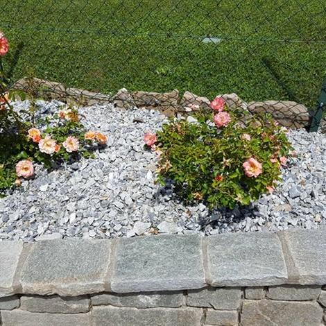 Pietrisco per aiuole e giardini pietre per giardini - Giardini in pietra ...